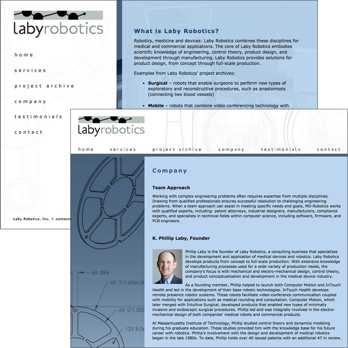 Laby Robotics, Inc. website